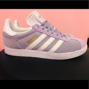 Adidas Gazelle Nubuck soft Vision Orchid trainers